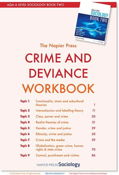 Crime and Deviance Workbook