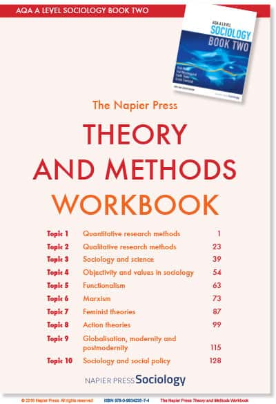 Theory and Methods Workbook