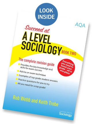SUCCEED AT A LEVEL SOCIOLOGY BOOK 2
