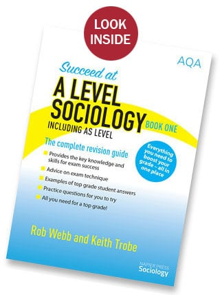 SUCCEED AT A LEVEL SOCIOLOGY BOOK 1